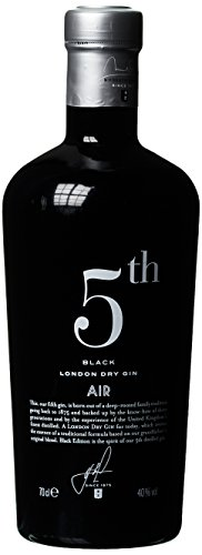 5th AIR Black London Dry Gin (1 x 0.7 l)
