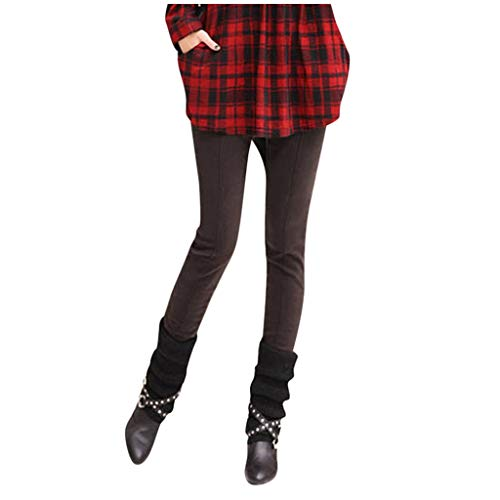 Lenfesh Damen Plus Size Hohe Taille Schlank Warm Gepolsterte Plus Puff Stiefel Hosen Sport Leggings Elastische Fitness Workout Activewear Pants