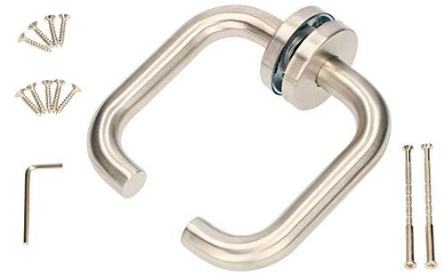 KOTARBAU® Rosettengarnitur 140 mm Edelstahl A Buntbart Universal (Türdrücker)