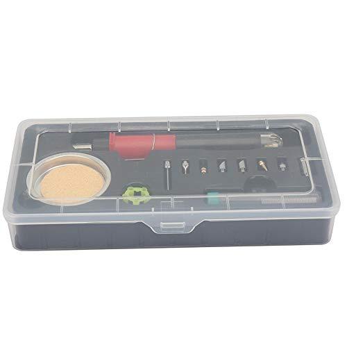 Herramienta de soldadura electrónica portátil 12 en 1 Kit de soldador de gas butano multifuncional para soldadura industrial