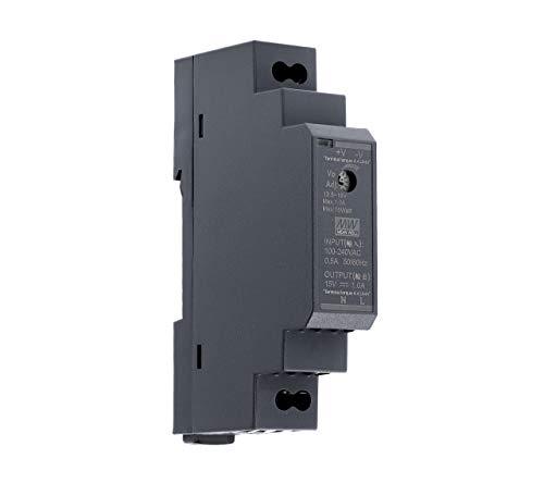 15 VDC | 1 A | 15 Watt | Mean Well HDR-15-15 Hutschienen-Netzteil DIN-Rail