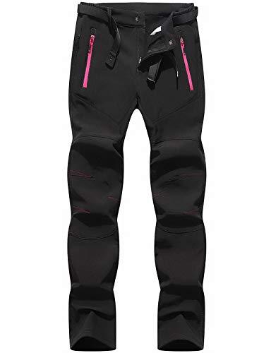 BenBoy Pantalon Montaña Mujer Secado Rápido Impermeable Pantalones Trekking Escalada Senderismo Acampada...
