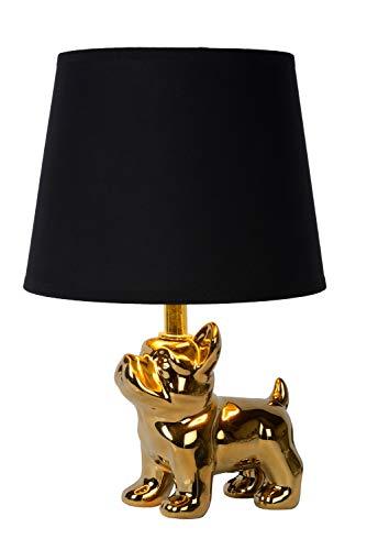 Lucide EXTRAVAGANZA SIR WINSTON – Lámpara de mesa – 1 x E14 – Oro