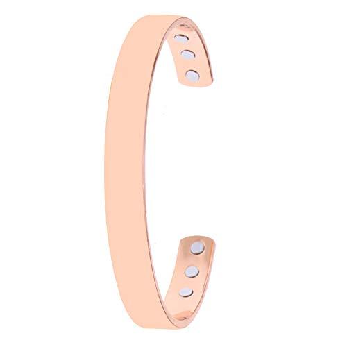 Magnetfeldtherapie Armband Arthritis Schmerzlinderung Reiner Kupfer Armreif