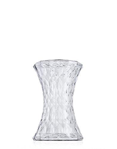Kartell Stone Taburete, Transparente (Crystal), 30x45x52 cm