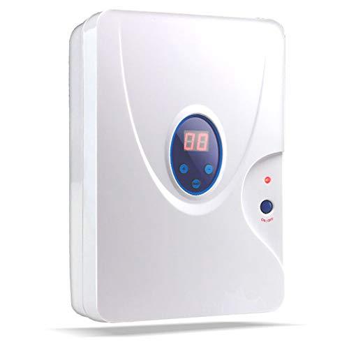 gridinlux | Generador de Ozono Mini Portátil | Purificador de Aire y Agua | Multifuncional y Desinfectante | Filtra y Neutraliza alérgenos y Malos olores | Potencia y duración Personalizable | 10W