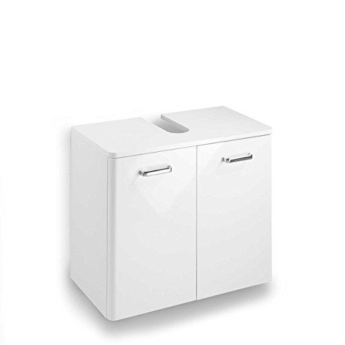Pelipal 359 Piolo Waschbeckenunterschrank Holzdekor Weiß Hochglanz 33,0 x 60,0 x 53,0 cm