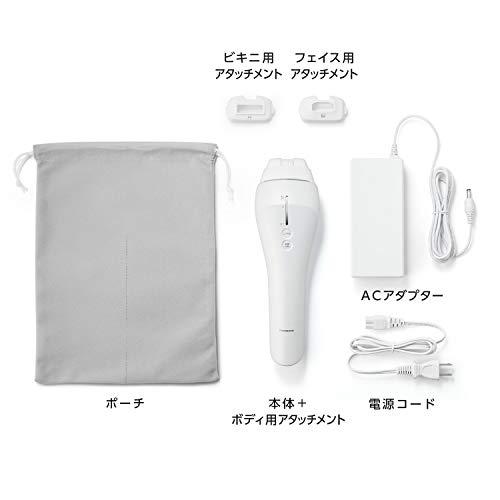 パナソニック光美容器光エステボディ&フェイス用ハイパワータイプシルバー調ES-WP81-S