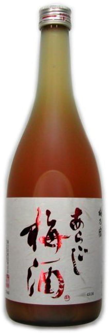 オゾンモナリザマガジン梅乃宿 あらごし梅酒 720ml