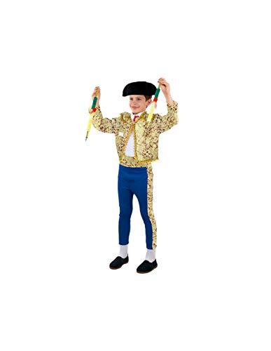 DISBACANAL Disfraz de torero para niño - -, 4 años