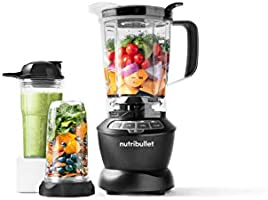 Nutribullet Full Size Blender + Combo 1000 Watts, 9 Piece Set, Multi-Function High Speed Blender, Mixer System with...