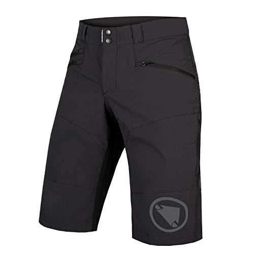 Endura Men's SingleTrack Baggy Mountain Cycling Shorts Black, XX-Large