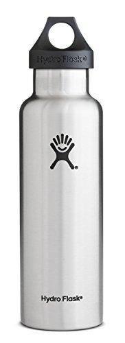 ハイドロフラスコ 18オンス (532ml) スタンダードマウスサイズ ウォーターボトル [並行輸入品] (ステンレス)