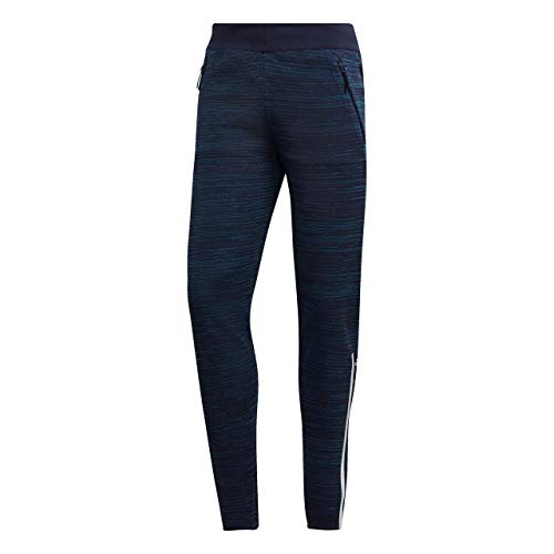 Mens Adidas Z.N.E Parley Primeknit Pants in Navy.