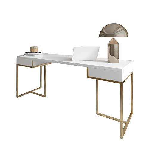 AWYJ Computer-Schreibtisch Massivholz-Schreibtisch Büro Bügeleisen Einzelzimmer Schreibtisch Kleines Apartment...