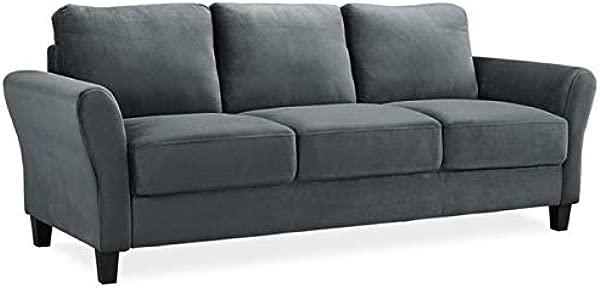 Pemberly Row Sofa In Dark Gray