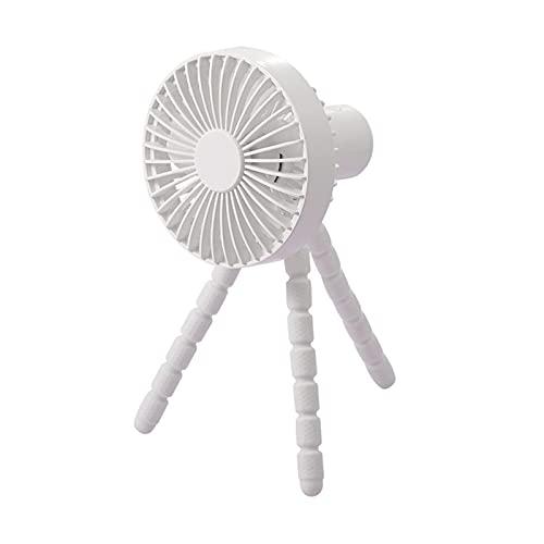 Ventilador Portátil, Ventilador Portátil Con Ventilador Mano Con Trípode Flexible 3 Velocidades Ventilador Clip Tienda Seguridad Cochecitos Al Aire Libre ( Color : Q , Fan Size : 22.7x12x10 cm )
