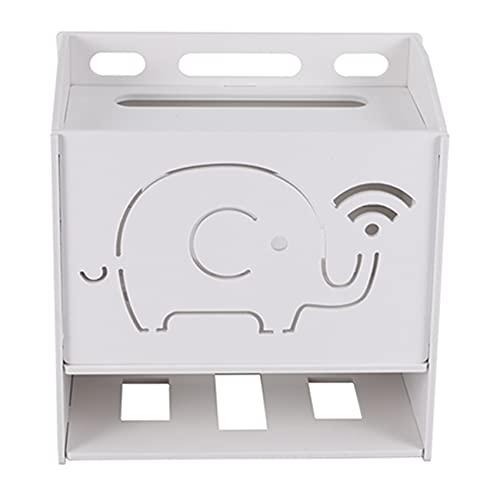 BEAUY Organizador Estante WiFi Router Oficina Casa De 3 Capas Caja De Almacenamiento Router De Tirón para Router -Medio