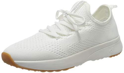 Marc O'Polo Damen 00215263502600 Sneaker, Weiß (White 100), 38 EU