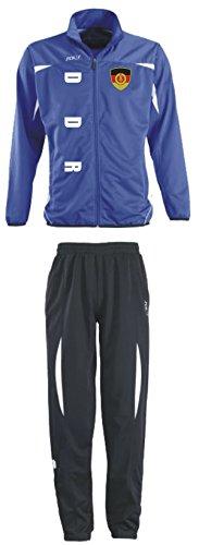 Aprom-Sports DDR Deutschland Trainingsanzug - Sportanzug - S-XXL - Fußball Fitness (M)