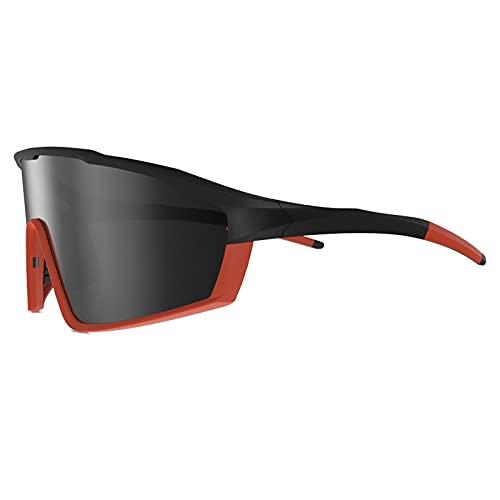 YHSW Gafas de Ciclismo TR90 Montura no frágil Gafas Sol Deportivas polarizadas para Hombres y Mujeres con protección UV 400 Guantes conducción Pescar Correr béisbol Caminar (14 * 6cm)