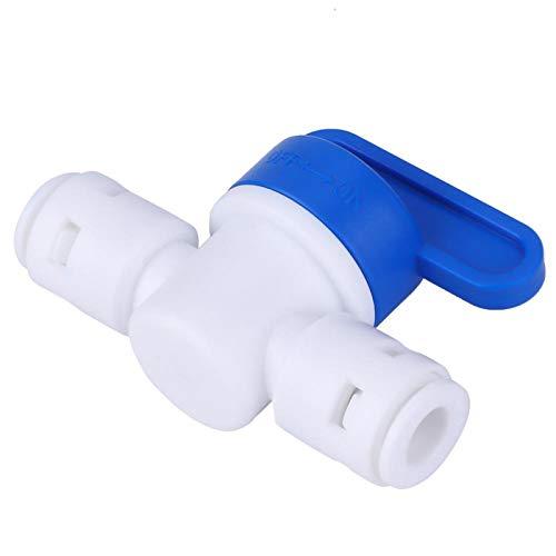 KUIDAMOS Válvula de Bola del Interruptor del Conector de la Manguera de Agua Que Monta la válvula de Bola para el Sistema de Drenaje