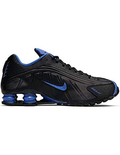Nike Shox R4 Turnschuhe, Schwarz/Game Royal, Herren-Sneaker, Schwarz - Schwarz  - Größe: 42.5 EU