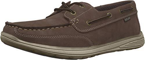 Eastland Men#039s Benton Boat Shoe Brown 85 D US