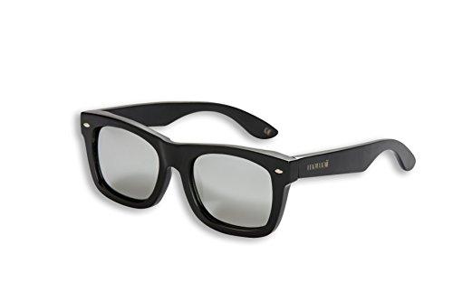Mawaii Modell Iraira Ao Polarized Lenses - FGV (Feel Good Vision) - inklusive Bambus-Box und Mikrofaserbeutel Sonnenbrille, schwarz, L