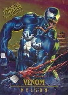 FLEER ULTRA SPIDER-MAN 1995 MASTERPIECES CARD 7 OF 9 VENOM