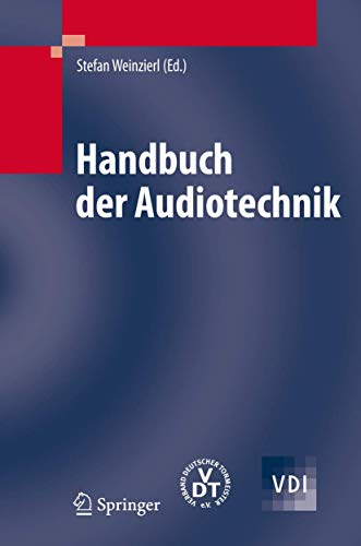 Handbuch der Audiotechnik (VDI-Buch) Band I und Band II
