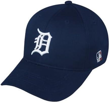 971591e23bb Amazon.com   MLB ADULT Detroit TIGERS Home Blue Hat Cap Adjustable Velcro  TWILL   Sports Fan Baseball Caps   Sports   Outdoors