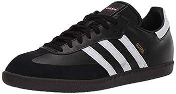 adidas Men s Samba Soccer Shoe White/Black 9 M US