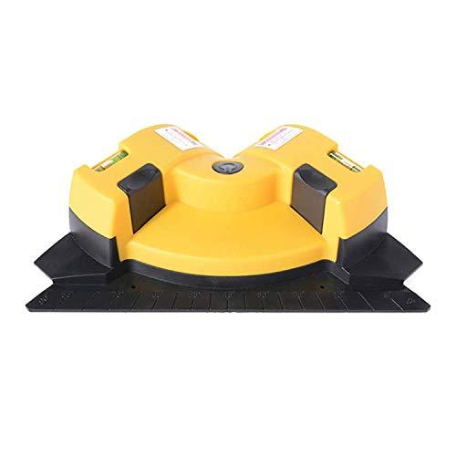 QPX Ángulo recto 90 grados gobernante Instrumento de tierra Nivel Línea Inspeccionando Instrumento Construcción Herramientas de marcador