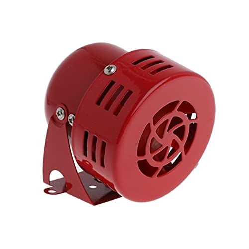 PINGGUO BOOY-Store Universal DC 12V Red 3'Air Raid Sirena Sirena Horn Speaker Alarma 50 Fit for Automotive Car Truck Motorcycle Yacht Boat