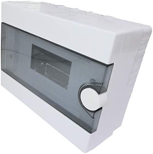 AERZETIX - Cuadro Eléctrico - Cuadro de Distribución/Modular - 220x170x100mm - De pared - Soporte - Fijación - 9 Módulos - IP40 - C44886