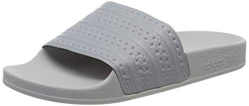 adidas Herren Adilette Badeschuhe, Grau (Grimed/Grpulg Mid Grey/Mid Grey/LGH Solid Grey), 36.5 EU