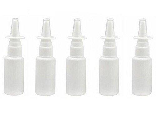 12pcs Vaporisateur Nasal en Plastique Rechargeable Vide Vaporisateur Pulvérisateur (15ml)