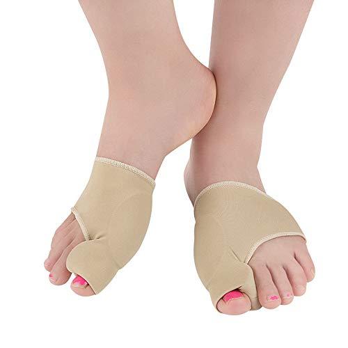HGJDKSJ Protector de juanetes, Soporte de Soporte para el Pulgar en valgo, aparatos ortopédicos, Herramienta de reparación para el Dedo Gordo, Alivio de la Bursitis, Cuidado de los pies,S