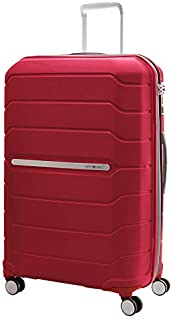 Samsonite 78793 Octolite Spinner Hard Side Luggage Bag, Deep Red, 81 Centimeters