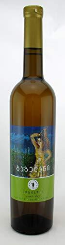 Georgischer Wein GAGELANI, weiß halbtrocken, aus autochthone Rebsorte Rkatsiteli, 0,75L, Georgien, Sommerwein