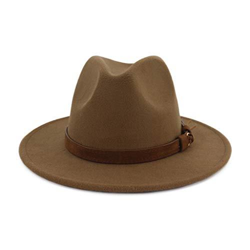 Auifor Mannen & vrouwen jaargang breed met riemgesp verstelbare outback caps