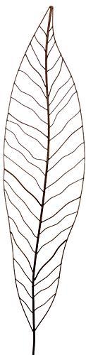 Crispe home & garden Gartenstecker Edelrost - Farn groß | Rankhilfe Gartendeko Höhe 147 cm