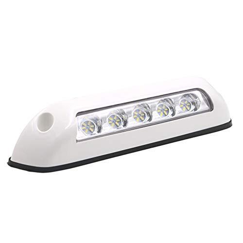 Gloaso RV 12V dc 2.6W Markise Lichter Bar Veranda Lampe 6000K Weiß für Caravan Boot Marine Trucks Wohnmobil RV Camping (Weiße Muschel)