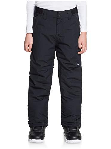 Quiksilver Estate-Pantalón para Nieve para Niños 8-16, True Black, XS/8