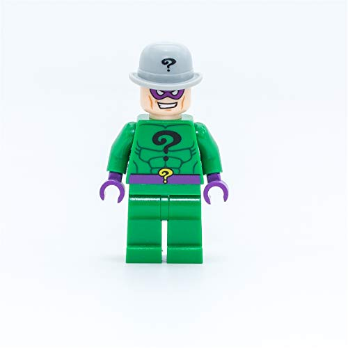 Super Heroes Batman Lego - RIDDLER mini figure. (Loose)