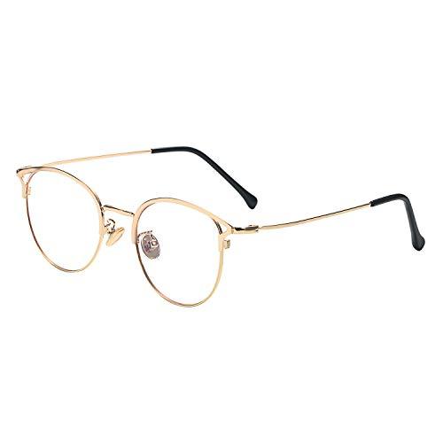 Aroncent メガネ ブルーライトカット おしゃれ PCメガネ 眼鏡 UV400 レディース カジュアル ビジネス 携帯用 軽量 メガネ拭き ケース収納 携帯 TVやパソコン適用 友達 同僚 彼女 家族プレゼント