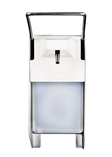 sedax ® Eurospender – Hochwertiger Desinfektionsspender inkl. Leerflasche & Wandmontage - Desinfektionsmittel Spender Wand (500 ML)