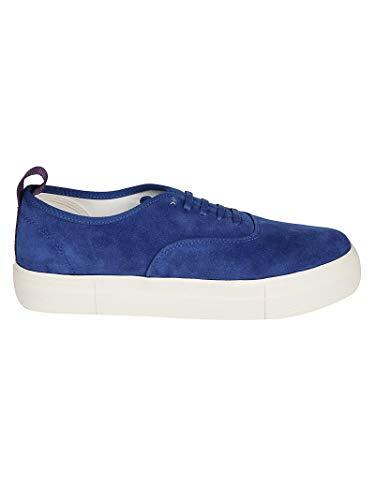 Eytys Luxury Fashion Herren MSCO004COBALT Blau Wildleder Sneakers | Jahreszeit Outlet