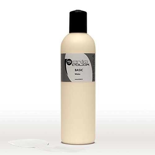 Senjo Color Basic Bodypainting Farbe 250ml, Farbton: Weiss
